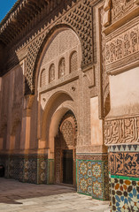 Madrasah in Marrakech Morocco