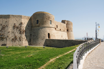 Aragonese castle of Ortona