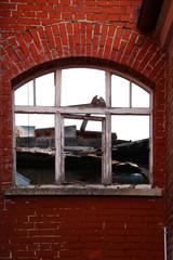 Fenster ruiniert