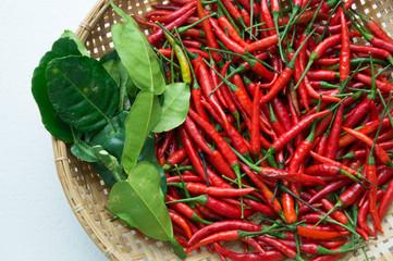 chili ingredients preparation hot spicy oriental fresh concept