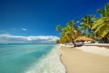 Landscape of paradise tropical island beach - 81775348