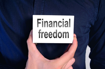 financial freedom man
