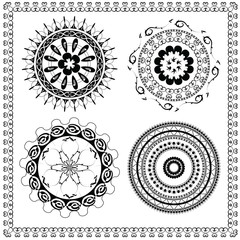 Round Ornament Pattern brush