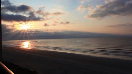 Sunrise ocean view