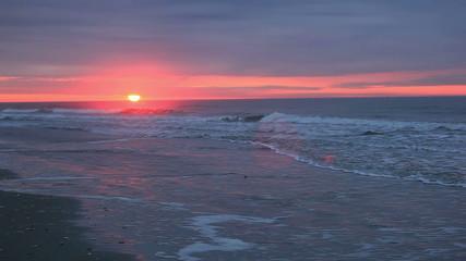 South Carolina beach sunrise