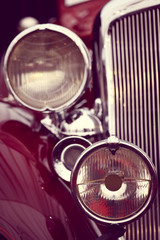 Vintage headlight
