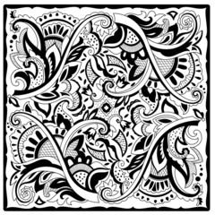 Decorative motif for tile