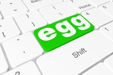 """Button """"egg"""" on keyboard"""