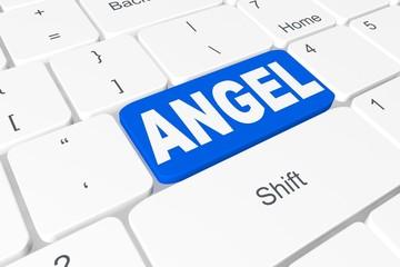 "Button ""angel"" on keyboard"