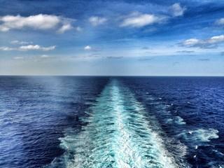seascape wake