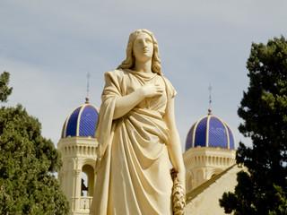 virgen,cementerio