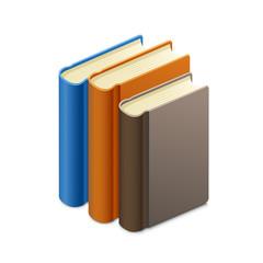 Vector illustration of books