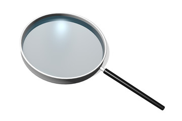 Magnifying glass concept