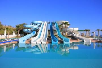 Aquapark slides