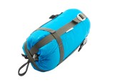 Sleeping bag packed