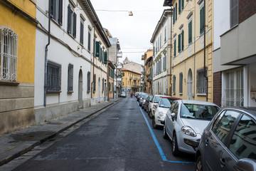 Strada centro storico, via