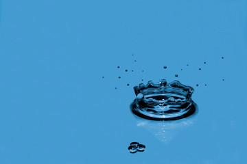 Gota de agua fresca