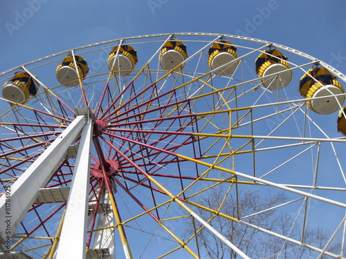 canvas print picture Big wheel in park