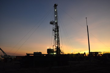 Oil exploration in the eastern plains of Colombia