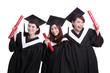 happy graduates students