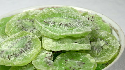 Candied Kiwi Slices