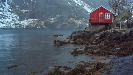 Fishing village, Lofoten, Norway