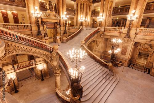 Escalier de l'Opéra Garnier - 81792917