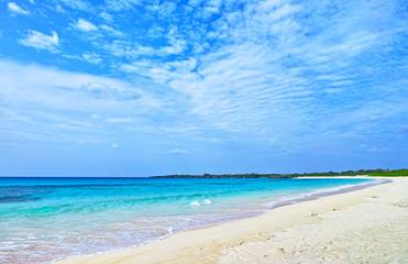 伊良部島の渡口の浜ビーチ
