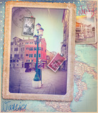 Fototapety Holidays in Italy and Venice series
