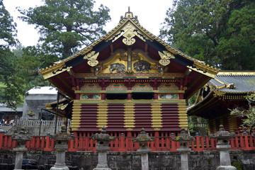 Kamijinko Upper Sacred Storehouse Nikko Japan