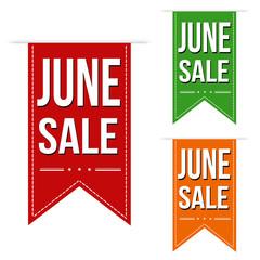 June sale banners design