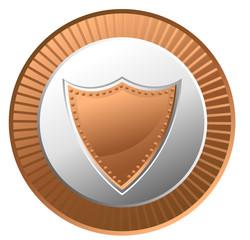 Retro Shield Coin