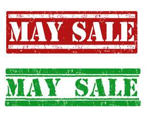 May sale stamp