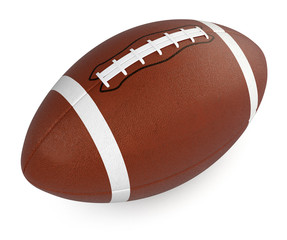 football and rugby ball