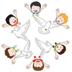 平和を願う子供たち