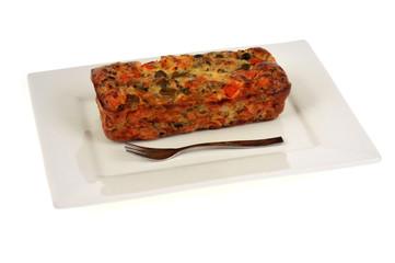 Petit cake aux légumes