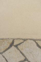 Wand aus verschiedenen Materialien - Hintergrund