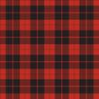 vector seamless retro squared fabric - 81801167