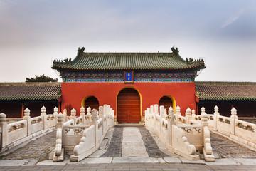 China Beijing Heaven Bridge Front