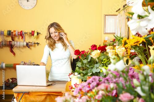 Fototapeta Florist