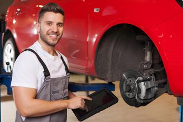 Car Brakes Inspection
