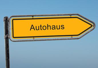 Strassenschild 38 - Autohaus