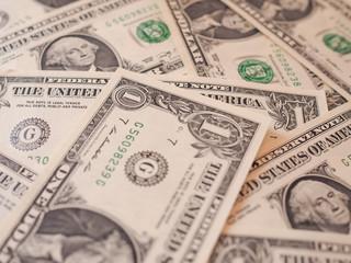 Dollar notes 1 Dollar