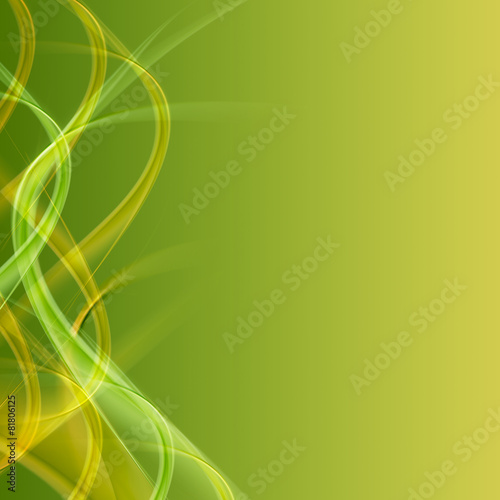 Deurstickers Abstract wave background with cross lines