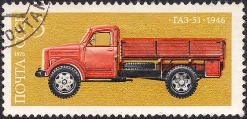 GAZ-51 - Soviet truck