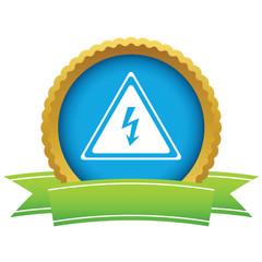 Gold voltage logo