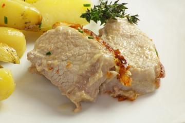 rôti de veau et pommes de terre 19042015