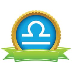 Gold Libra logo