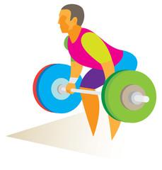 weightlifter dead lift