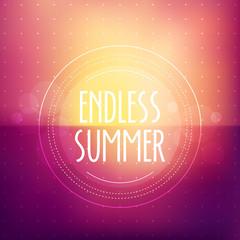 Endless Summer Blurred Background